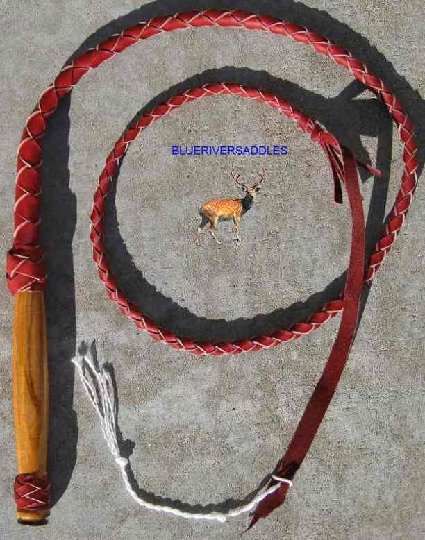 Bullwhip Red 4 Plait Better